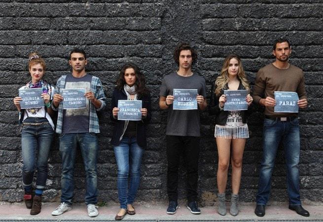 Nadir Caselli, Primo Reggiani, Sara Cardinaletti, Simone Riccioni, Maria Chiara Centorami, Brice Martinet