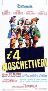 I 4 moschettieri