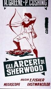Locandina Gli arcieri di Sherwood