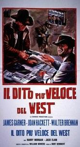 Locandina Il dito più veloce del West!