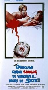 Dracula cerca sangue di vergine e... morì di sete!!!
