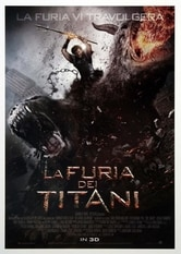 Locandina La furia dei Titani