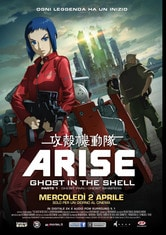 Locandina Ghost in the Shell - Arise: Parte 1