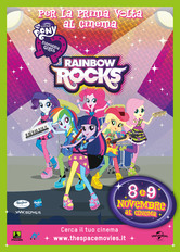 Locandina My Little Pony: Equestria Girls - Rainbow Rocks