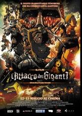 Locandina L'attacco dei giganti - Il Film: Parte I. L'arco e la freccia cremisi