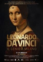 Locandina Leonardo da Vinci. Il Genio a Milano