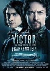 Locandina Victor: La storia segreta del dottor Frankenstein