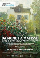 Locandina Da Monet a Matisse - L'arte di dipingere il giardino moderno