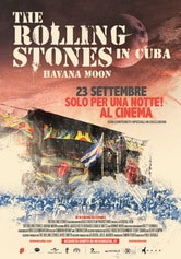 Locandina The Rolling Stones in Cuba - Havana Moon