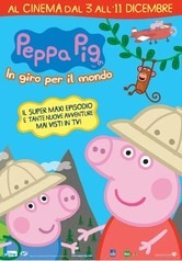 Locandina Peppa Pig in giro per il mondo