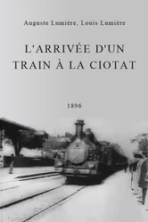 L'arrivo di un treno nella stazione di La Ciotat