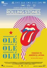 Locandina The Rolling Stones Olé, Olé, Olé!: Viaggio in America Latina