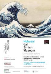 Locandina Hokusai dal British Museum