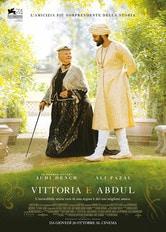 Locandina Vittoria e Abdul