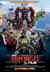 Locandina Lego Ninjago: Il film