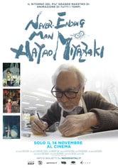 Locandina Never Ending Man: Hayao Miyazaki
