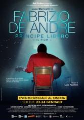 Locandina Fabrizio De Andrè. Principe libero