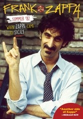 Locandina Summer 82 - When Zappa Came to Sicily