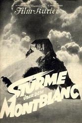 Tempeste sul Monte Bianco