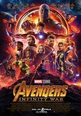 Locandina Avengers: Infinity War