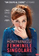 Locandina Montparnasse femminile singolare