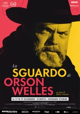 Locandina Lo sguardo di Orson Welles