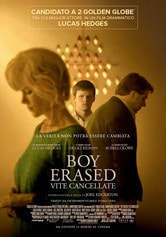 Locandina Boy Erased - Vite cancellate