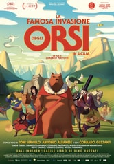 Locandina La famosa invasione degli orsi in Sicilia