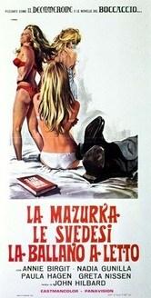 La mazurka le svedesi la ballano a letto