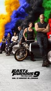 Locandina Fast & Furious 9 - The Fast Saga