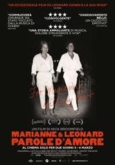 Locandina Marianne & Leonard: Parole d'amore