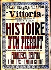 Histoire d'un Pierrot
