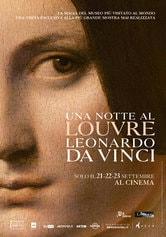 Locandina Una notte al Louvre: Leonardo da Vinci