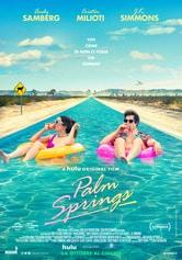 Locandina Palm Springs - Vivi come se non ci fosse un domani