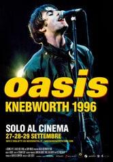 Locandina Oasis Knebworth 1996