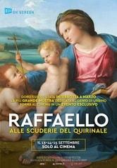 Locandina Raffaello alle Scuderie del Quirinale