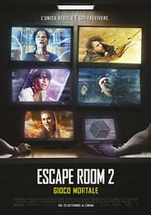 Locandina Escape Room 2: Gioco mortale