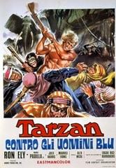 Tarzan contro gli uomini blu