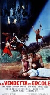 Locandina La vendetta di Ercole