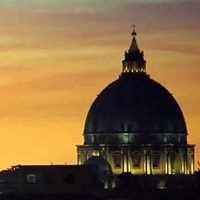 Roma, arrivo.
