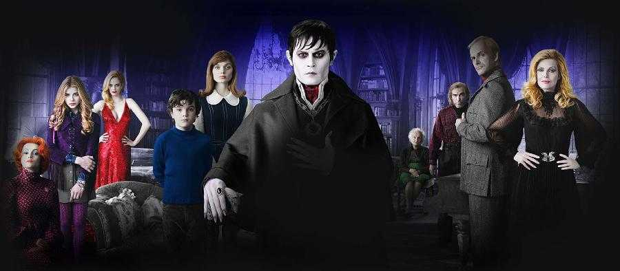 Dark Shadows: il cast