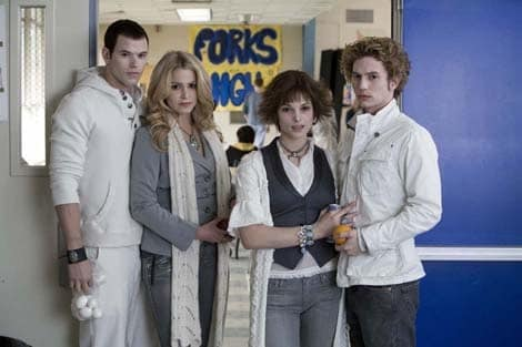 Twilight: Peter Facinelli, Nikki Reed, Ashley Greene, Jackson Rathbone